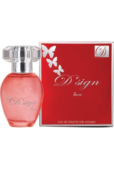Dsign Love Edt+Deodorant Set