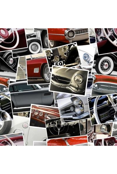 İthal Modern Araba Resimli Duvar Kağıdı