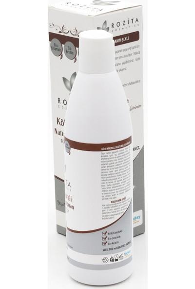 Rozita Kozmetik Kök Hücreli Argan Yağlı Bitkisel Şampuan 300Ml