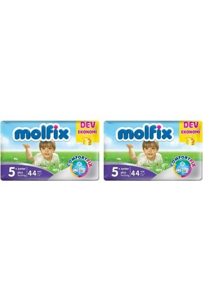 Molfix Bebek Bezi Comfort Fix Dev Ekonomi 5+ Beden 88 Adet