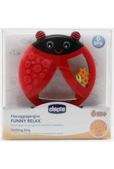 Chicco Funny Relax Diş Kaşıyıcı 6 Ay+ Uğur Böceği