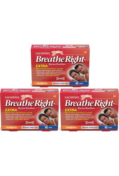Breathe Right Extra Burun Bandı 3'lü Paket