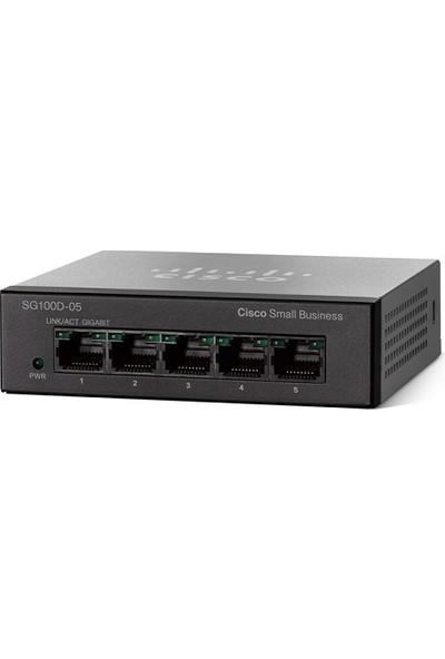 Cısco 5Port Sg110D-05-Eu Gigabit Yönetilemez Switch Desktop