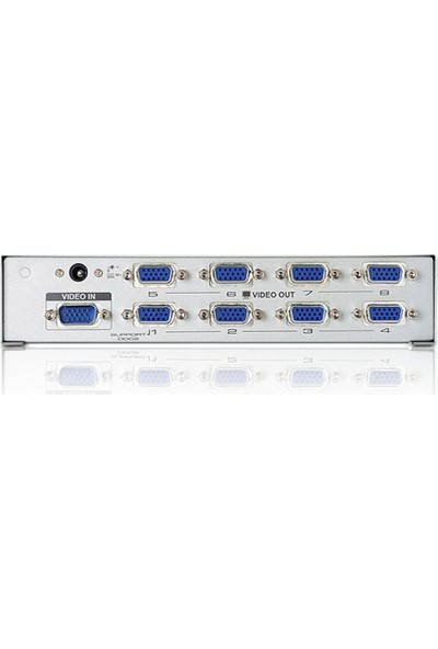 Aten 8Port Vs98A-A7-G 8X 15Pin Dsub 1920X1440 350Mhz Vga,Video Splitter