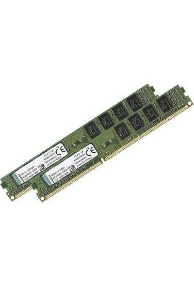 Kıngston Ddr3 8Gb (2X4Gb) 1600Mhz (Pc3-12800) Value Pc Ram Cl11 Kvr16N11S8K2/8 240Pin 1.5V