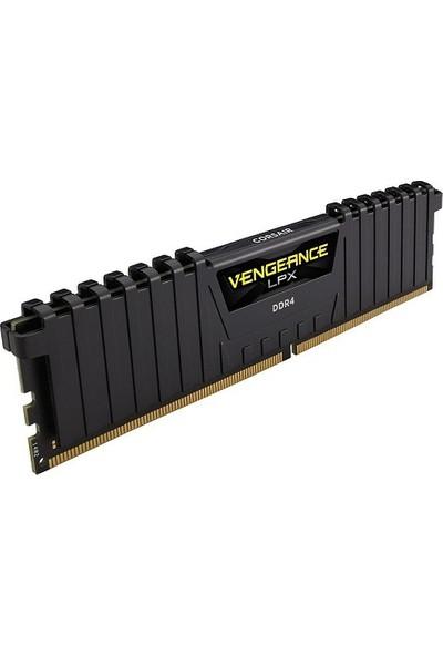 Corsaır Ddr4 16Gb 2400Mhz (Pc4-19200) Vengeance Lpx Pc Ram Cl16 Cmk16Gx4M1A2400C16 288Pin 1.2V Soğutuculu