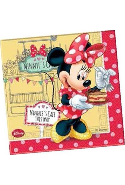 Partibahcesi Minnie Cafe Kağıt Peçete 16'Lı 33X33 Cm