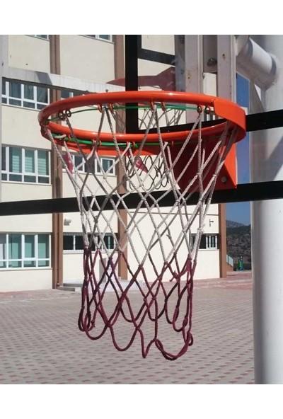 adelinspor Basketbol Çemberi 45 Cm Sabit, Halkalı Ağ Bağlantısı File