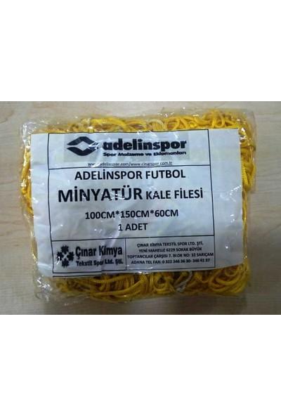 adelinspor Minyatür Kale Filesi 100/150/60Cm 10*10 Göz 2,5 Mm Renkli İp