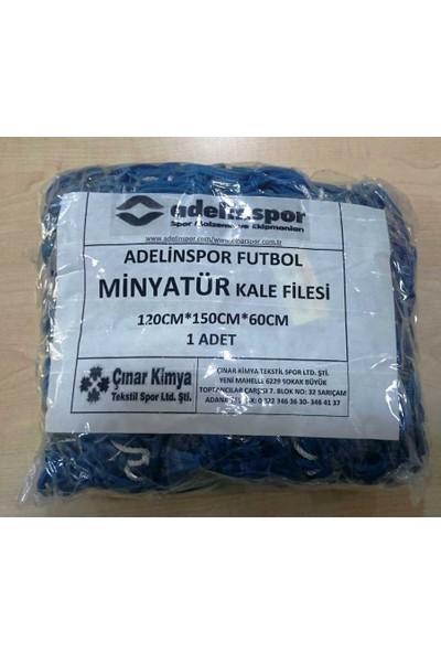 adelinspor Minyatür Kale Filesi 120/150/ 60Cm 10*10 Göz 2,5 Mm Renkli İp