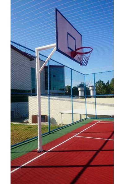 Basketbol Sahası Akrilik Zemin Yapımı 300 m2