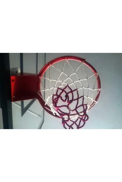 adelinspor Basketbol Filesi 4 Mm Floş İp İki Renk