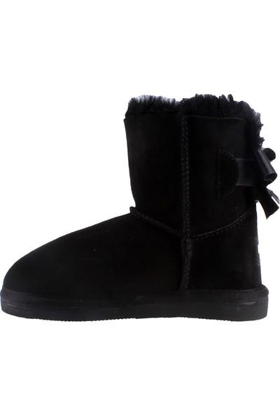 Pegia Taba Suede 121014 Kız Çocuk Çizme Siyah