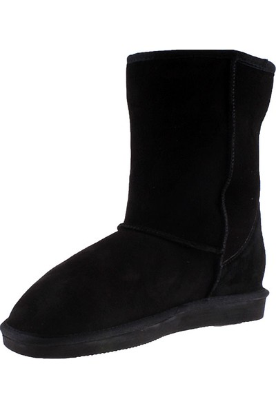 Pegia Sahra Suede 101006 Kadın Çizme Siyah