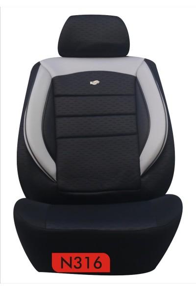 K-Design Oto Koltuk Kılıfı Gofraj Serisi - N316