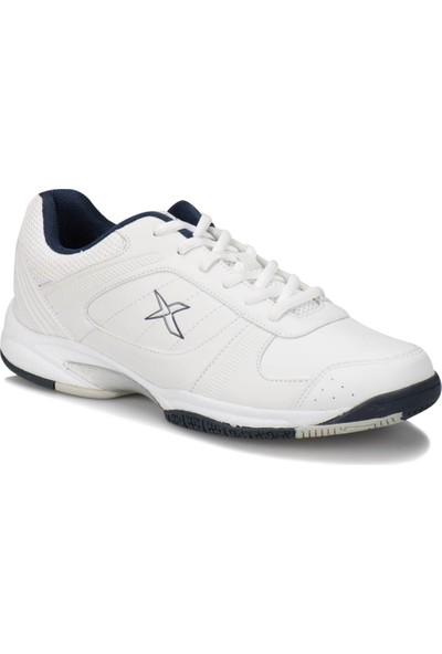Kinetix Karon Beyaz Lacivert Erkek Tenis Ayakkabısı