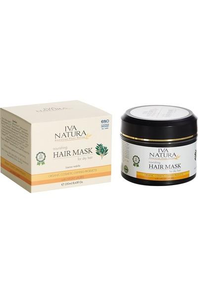 Iva Natura Sertifikalı Organik Saç Maskesi (Defne Bitkisi ve Biberiye Özlü Saç Maskesi) 250 ML