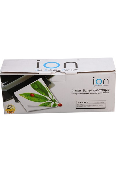 Hp CB436A Laserjet Siyah Ion Toner