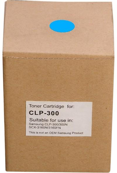 Samsung CLP-C300A Mavi Ion toner