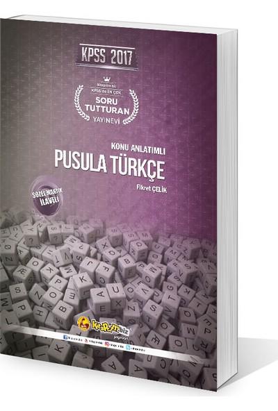 Kitapcim.Biz Yayınları 2017 Kpss Pusula Türkçe Konu Anlatımlı