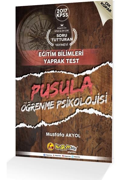 Kitapcim.Biz Yayınları 2017 Kpss Pusula Öğrenme Psikolojisi Çek Kopar Yaprak Test