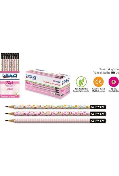 Gıpta Pink Yuvarlak Kurşun Kalem (Adet)