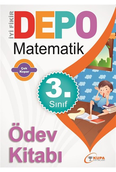 Kupa Yayınları Depo 3 Sınıf Matematik Ödev Kitabı