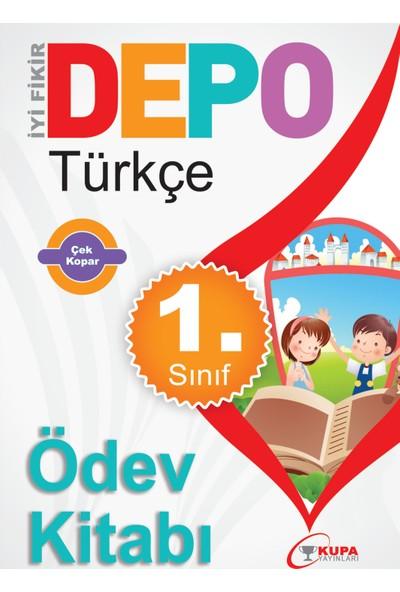 Kupa Yayınları Kupa Depo 1 Sınıf Türkçe Ödev Kitabı