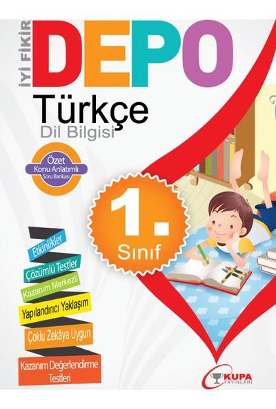 Kupa Yayınları Depo 1. Sınıf Türkçe Dil Bilgisi Konu Anlatımlı Soru Bankası