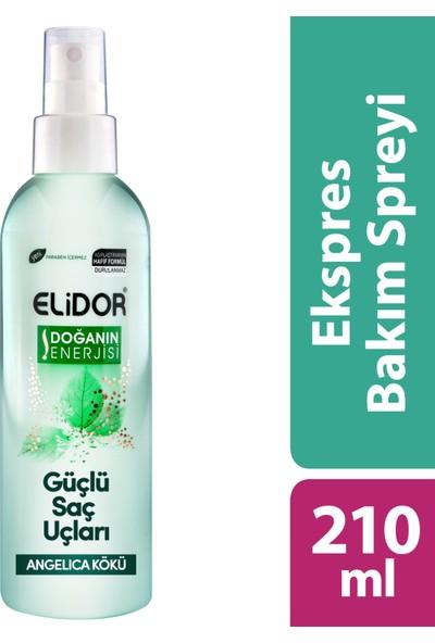 Elidor Express Saç Bakım Spreyi Güçlü Saç Uçları 210 ml
