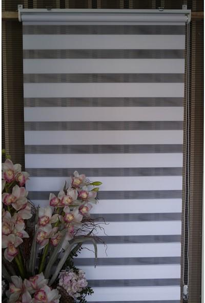 Techstor Eco-Syle Zebra Perde Beyaz
