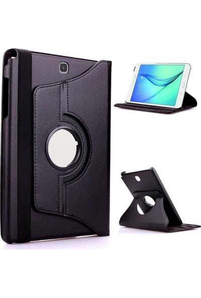 Mustek samsung Tab T350 360 Dönerli Tablet Kılıf+9H Kırılmaz Cam+Kalem