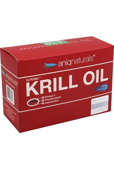 Aniqnaturals Superba Krill Oil Yağı 730 Mg 60 Softgel