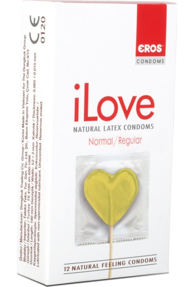 Eros iLove Normal Prezervatif