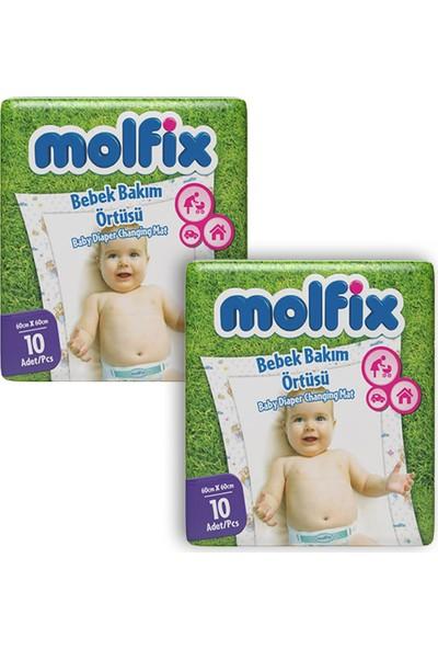 Molfix Alt Değiştirme Örtüsü 10'lu (2 ADET)