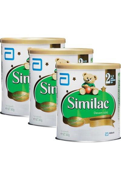 Similac 2 Devam Sütü 360 gr - 3'lü