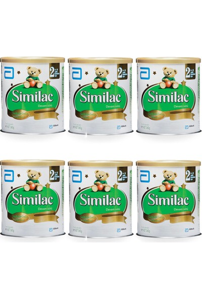 Similac 2 Devam Sütü 360 gr - 6'lı