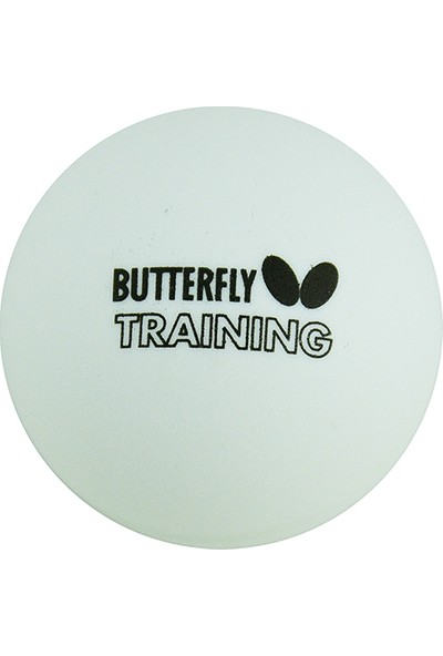 Butterfly 16005B Training Ball 100 Lü Çanta Antrenman Topu Beyaz