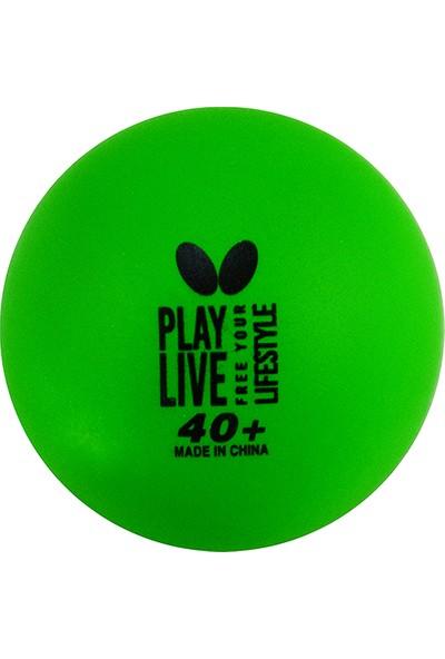 Butterfly 85215 Free Your Style 6 Lı Antrenman Topu Yeşil