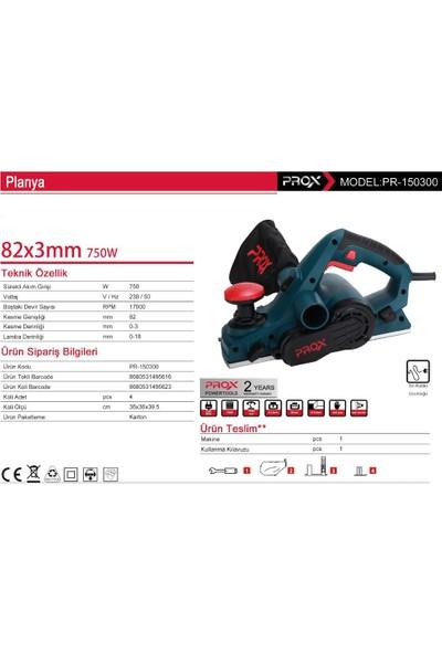 Prox 750 Watt 82 Mm Planya