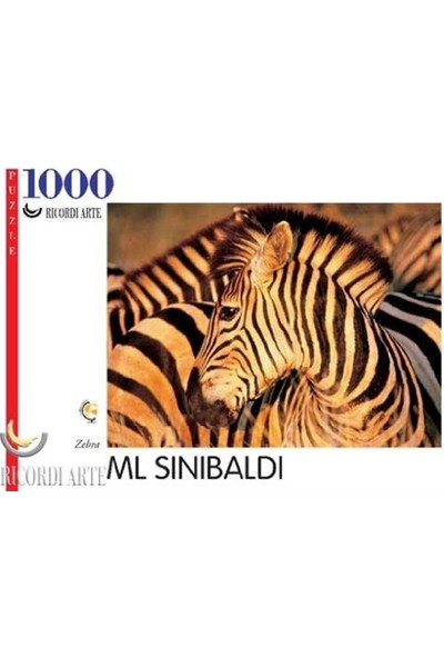 Ricordi Arte Zebra