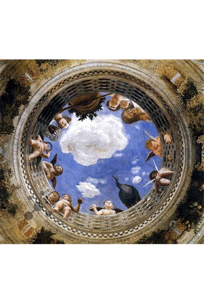 Art Stones Camera Degli Sposi Det.Mantegna Puzzle 1500 Parça