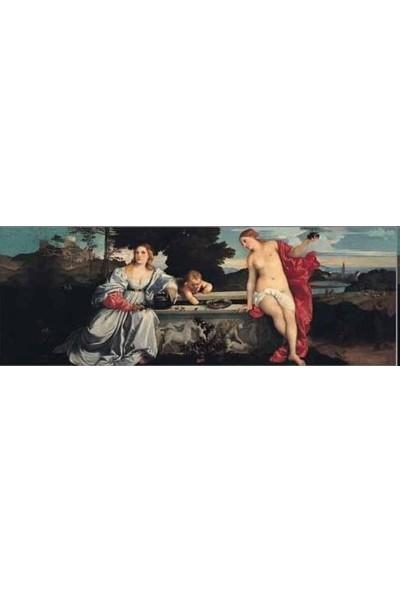 Ricordi Arte Kutsal ve Saygısız Amor Sacro E Amor Profano Tiziano Vecellio