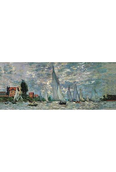 Art Stones Regates A I Argenteuil Claude Monet