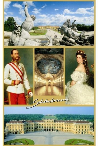 Piatnik Schönbrunn Kartpostalı