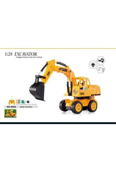 Toysetoys Kumandalı Excavator