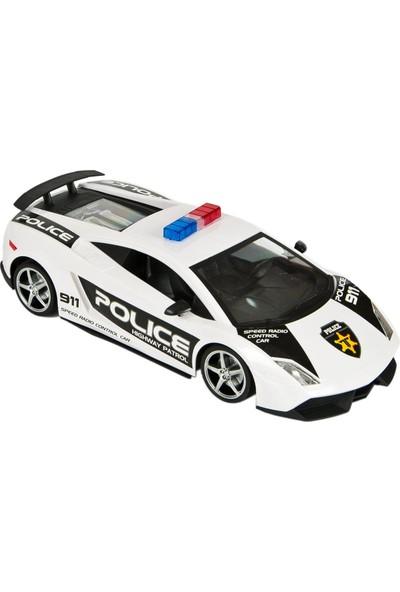 Canem Uzaktan Kumandalı Şarjlı Polis Arabası 7649
