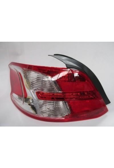 Ypc Peugeot 301- 13/16 Stop Lambası L Kırmızı/Beyaz Duyulu Kapaklı (Famella)