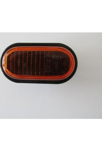 Ypc Renault Clio- Sd/Hb- 02/06 Ön Çamurluk Sinyali Sarı R/L Aynı (Adet) (Famella)
