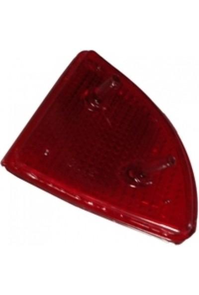 Ypc Dacia Logan- Mcv- 06/08 Arka Tampon Reflektörü R Kırmızı (Famella)